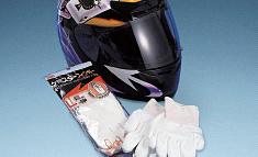 ダイニーマの使用イメージ(防護手袋、ヘルメットなどの安全用具)